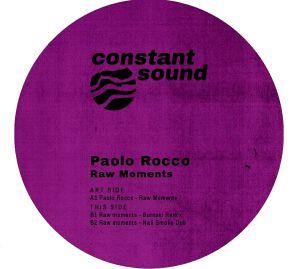 "Paolo Rocco/RAW MOMENTS (NAIL RMX) 12"""