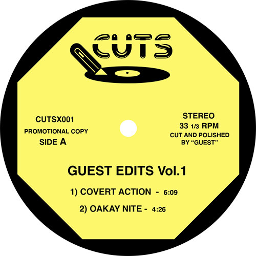 Unknown/GUEST EDITS VOL. 1 12""