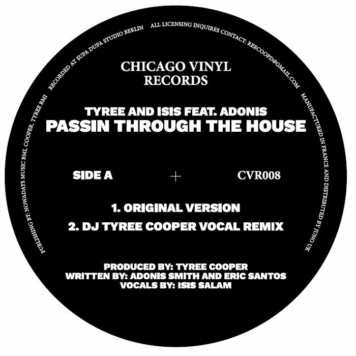Tyree Cooper/PASSIN THRU THE HOUSE 12""