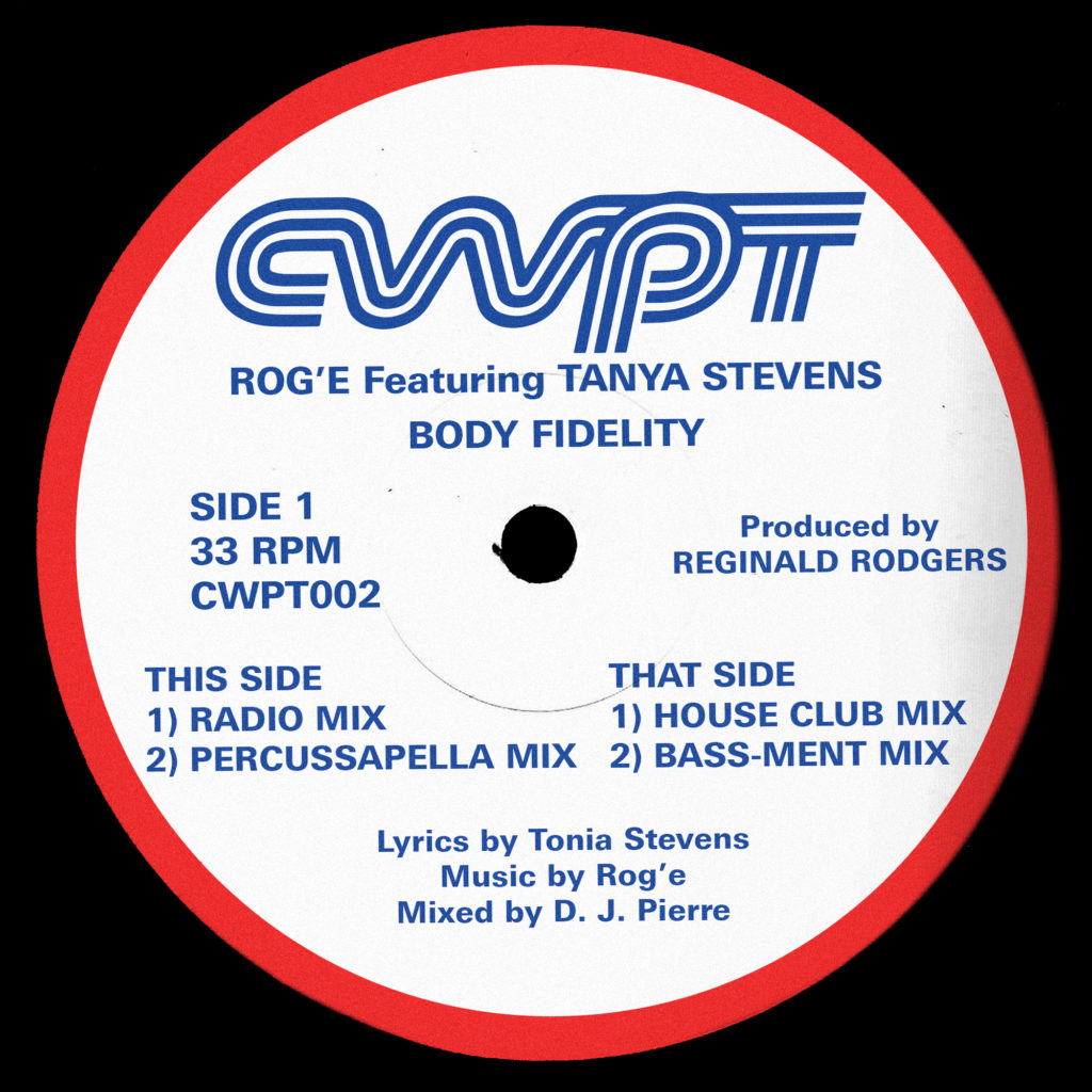 """Rog'E ft Tanya Stevens/BODY FIDELITY 12"""""""