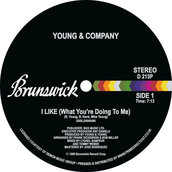 """Young & Company/I LIKE 12"""""""
