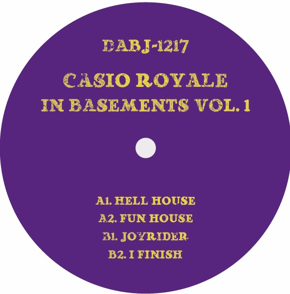 Casio Royale/IN BASEMENTS VOL. 1 12""