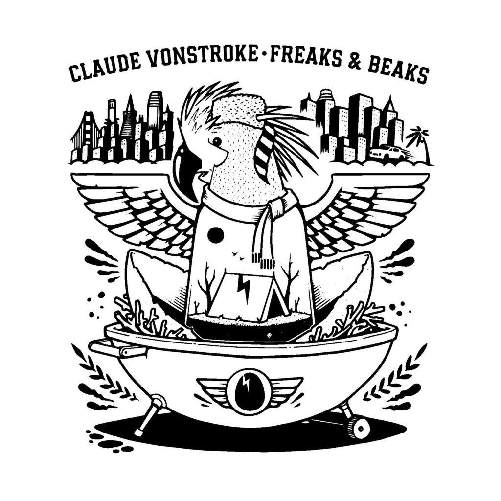 Claude VonStroke/FREAKS & BEAKS 3LP