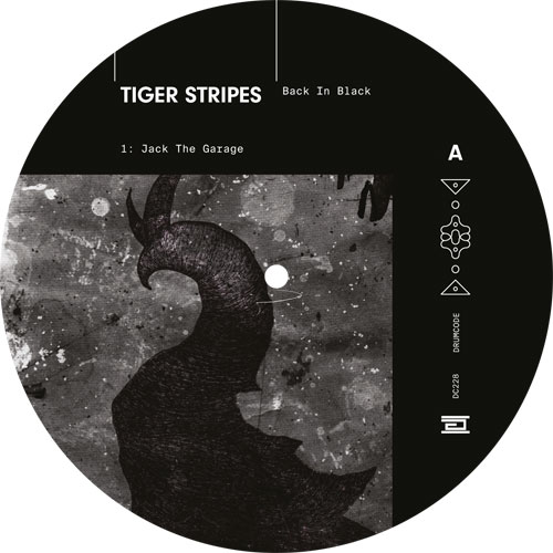 Tiger Stripes/BACK IN BLACK 12""
