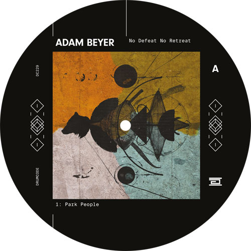 "Adam Beyer/NO DEFEAT NO RETREAT 12"""