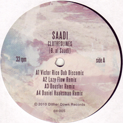 Saadi/CLOTHESLINES REMIXES 12""