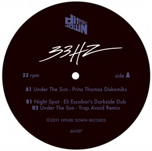 33HZ/UNDER THE SUN PRINS THOMAS RMX 12""