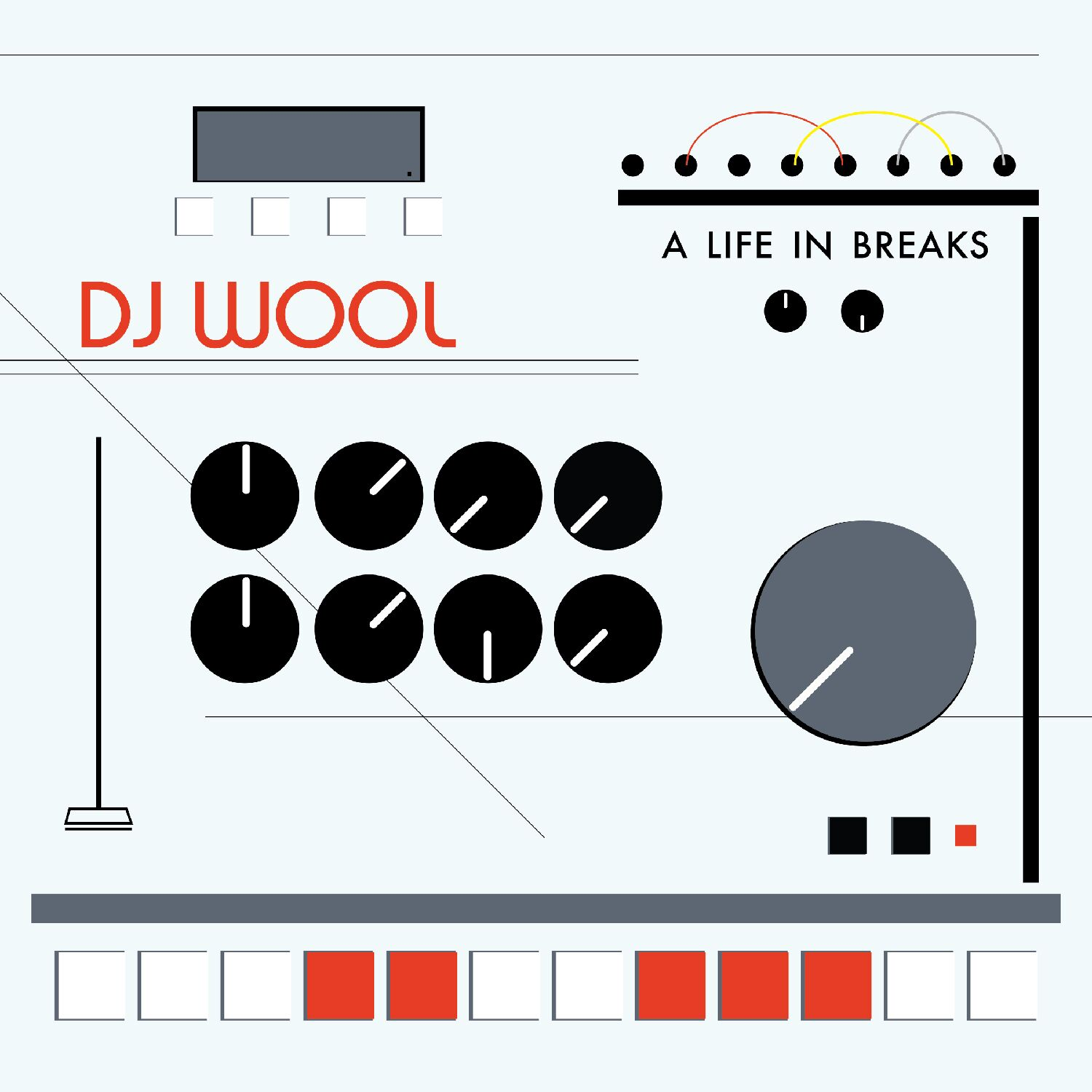 DJ Wool/A LIFE IN BREAKS SAMPLER 12""