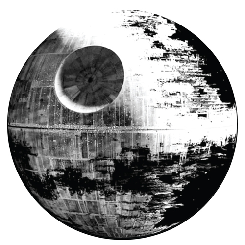 Deathstar/GLOW IN THE DARK SLIPMAT