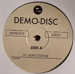 Ajello/DEMO DISC 10 VOL. 2 12""