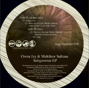 """Owen Jay & M. Sultana/SUBGROOVER EP 12"""""""