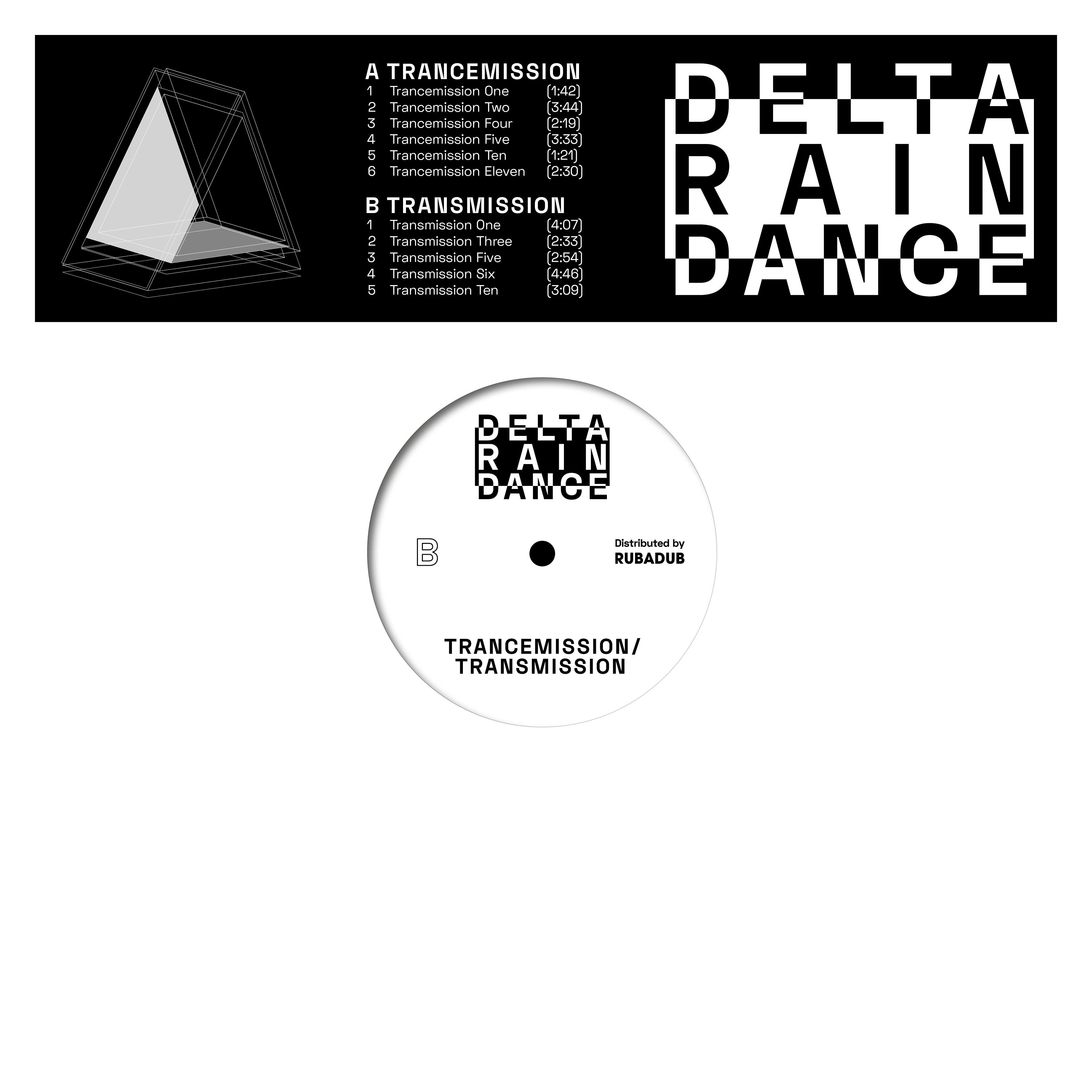 Delta Rain Dance/TRANCEMISSION LP