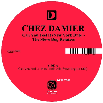 """Chez Damier/CAN YOU FEEL IT - S.BUG 12"""""""