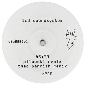 """LCD Soundsystem/45:33 RMXS WHITE OUT 12"""""""