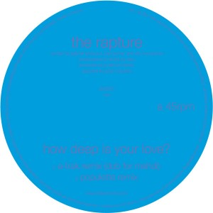 """Rapture/HOW DEEP IS YOUR A-TRAK RMX 12"""""""