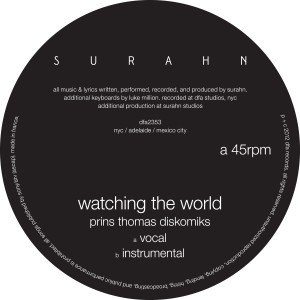 """Surahn/WATCHING THE WORLD-P.THOMAS 12"""""""