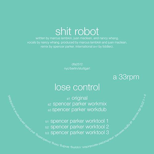 "Shit Robot/LOSE CONTROL 12"""