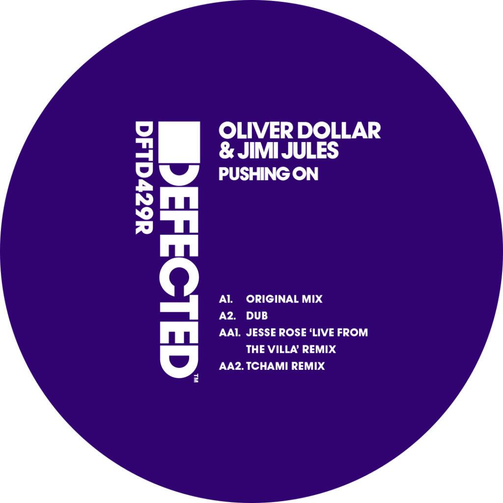 "Oliver Dollar/PUSHING ON (REPRESS) 12"""
