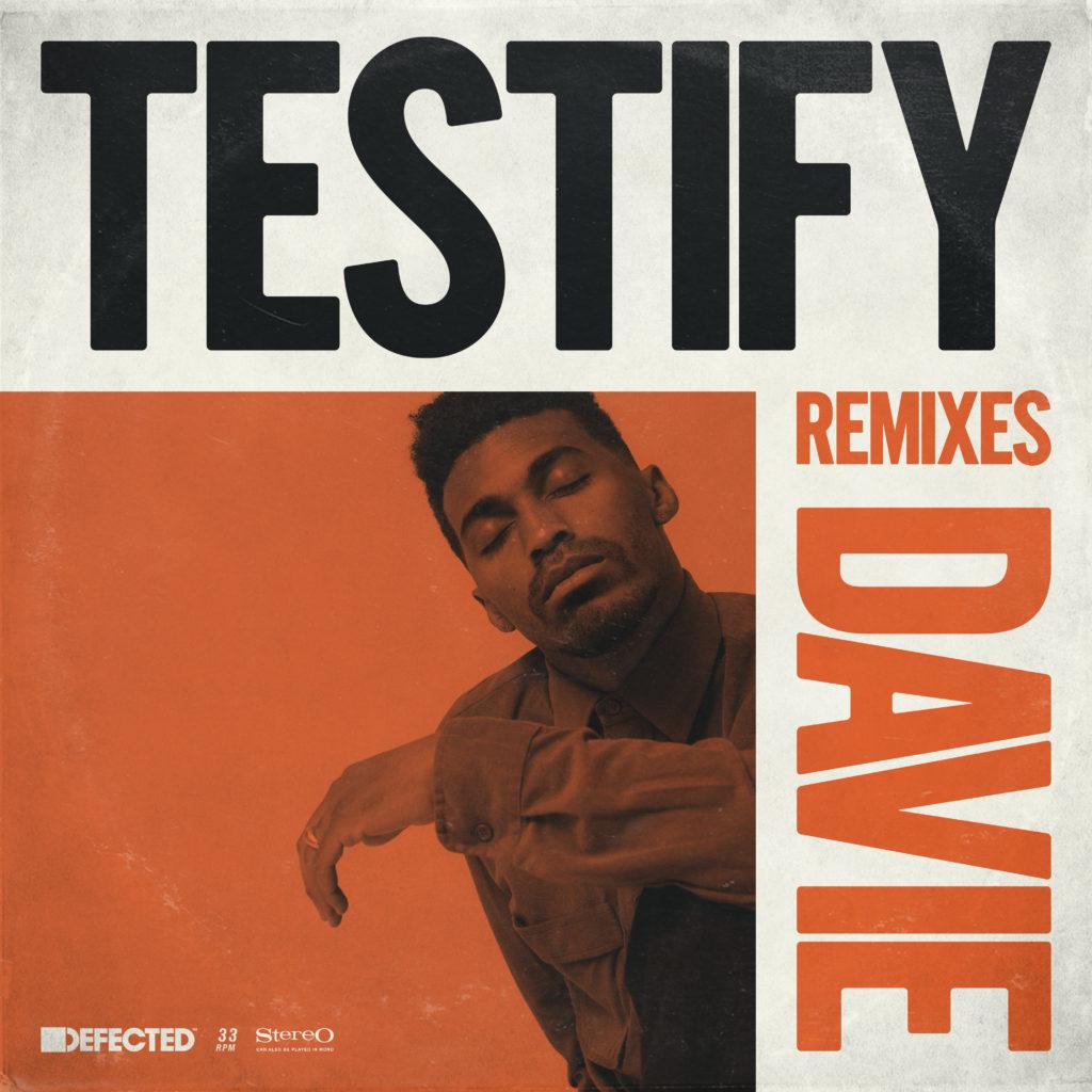 "Davie/TESTIFY REMIXES 12"""