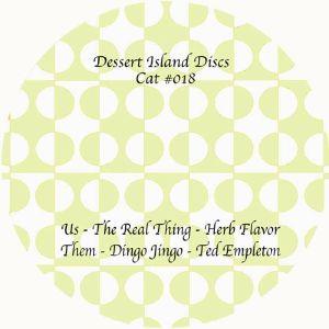 "Various/DESSERT ISLAND DISCS 18 12"""