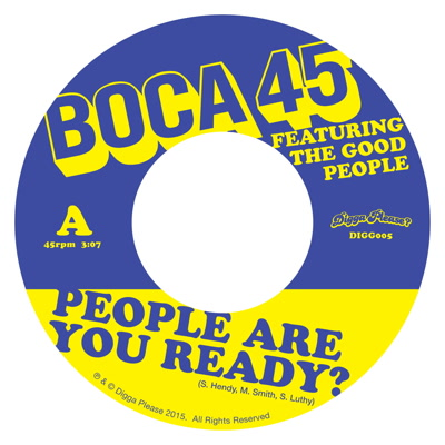"""Boca 45/PEOPLE ARE YOU READY? 7"""""""