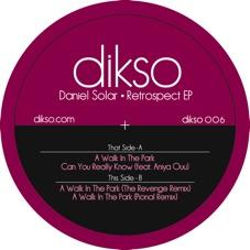 "Daniel Solar/RETROSPECT EP 12"""