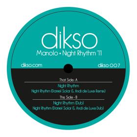 """Manolo/NIGHT RHYTHM '11 12"""""""
