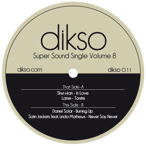 "Various/SUPER SOUND SINGLE VOL. 8 12"""