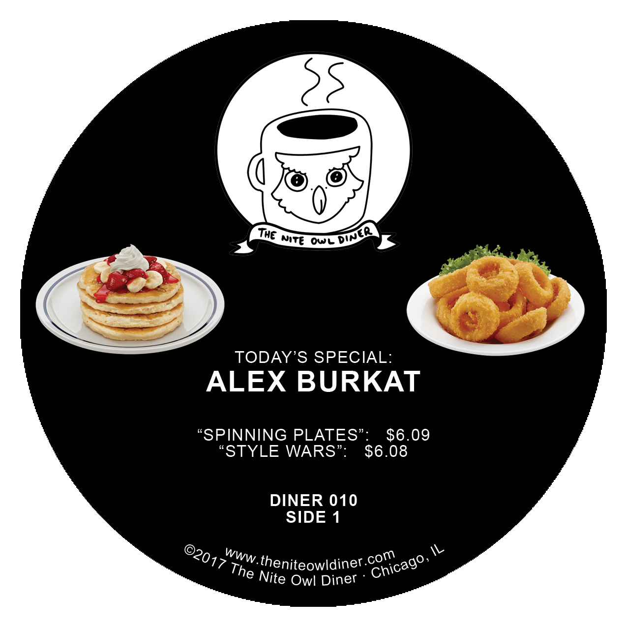 Alex Burkat/LAST DAYS OF FLATBUSH EP 12""