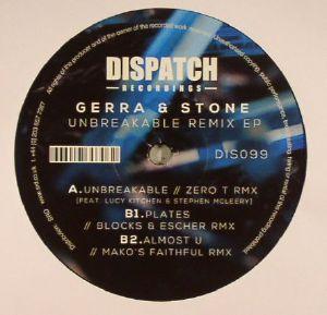 "Gerra & Stone/UNBREAKABLE REMIX EP 12"""