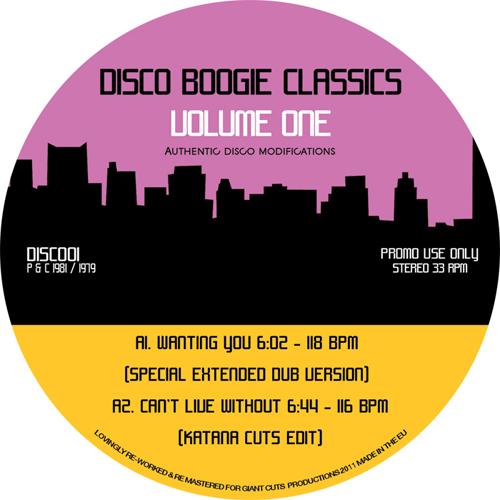 """Disco Boogie Classics/VOL. 1 12"""""""