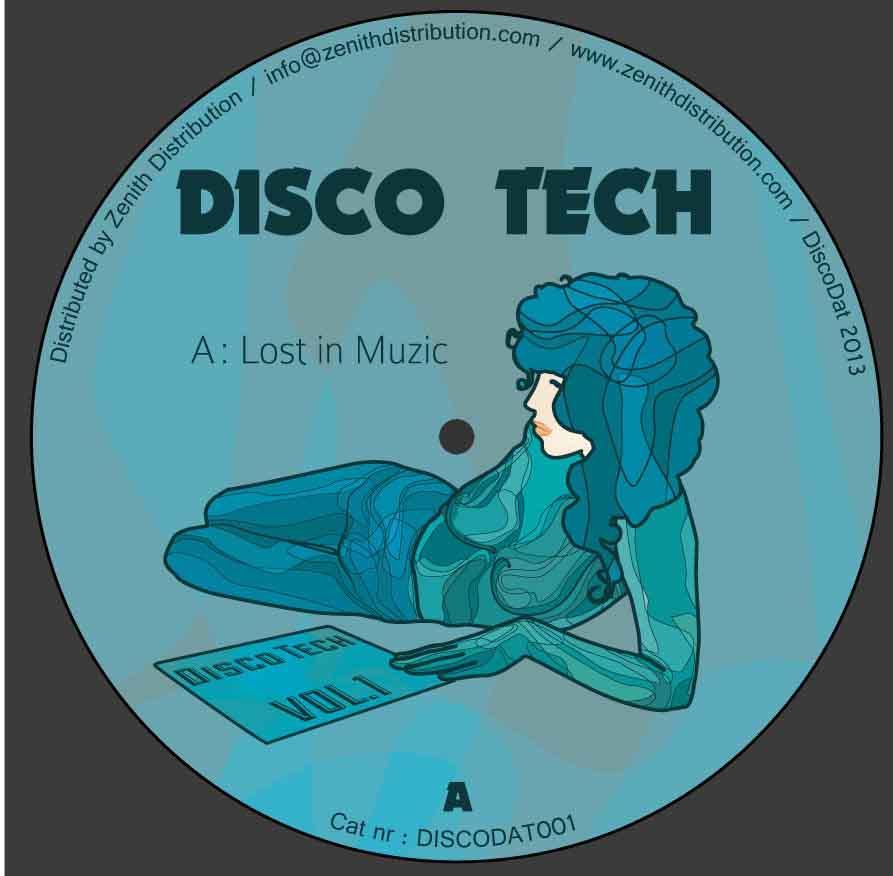 """Disco Tech/DT EDITS VOL. 1 12"""""""