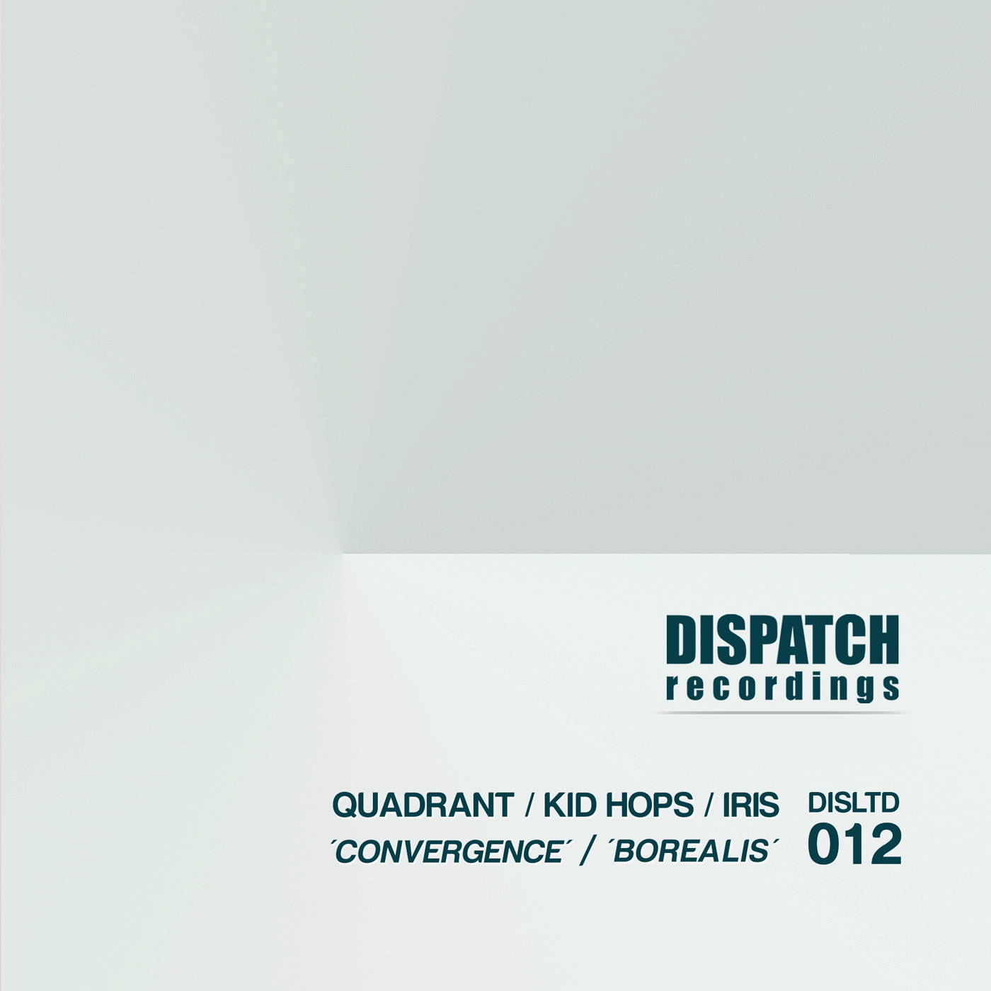 "Quadrant,Kid Hops & Iris/CONVERGENCE 12"""