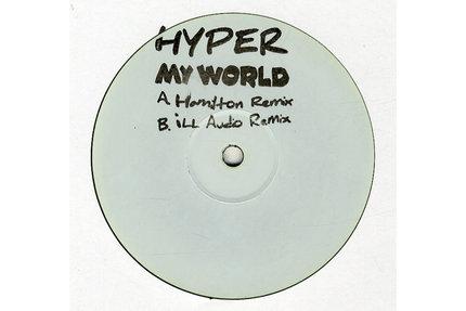 """Hyper/MY WORLD (D&B REMIXES) 12"""""""
