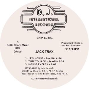 "Chip E/JACK TRAX 12"""