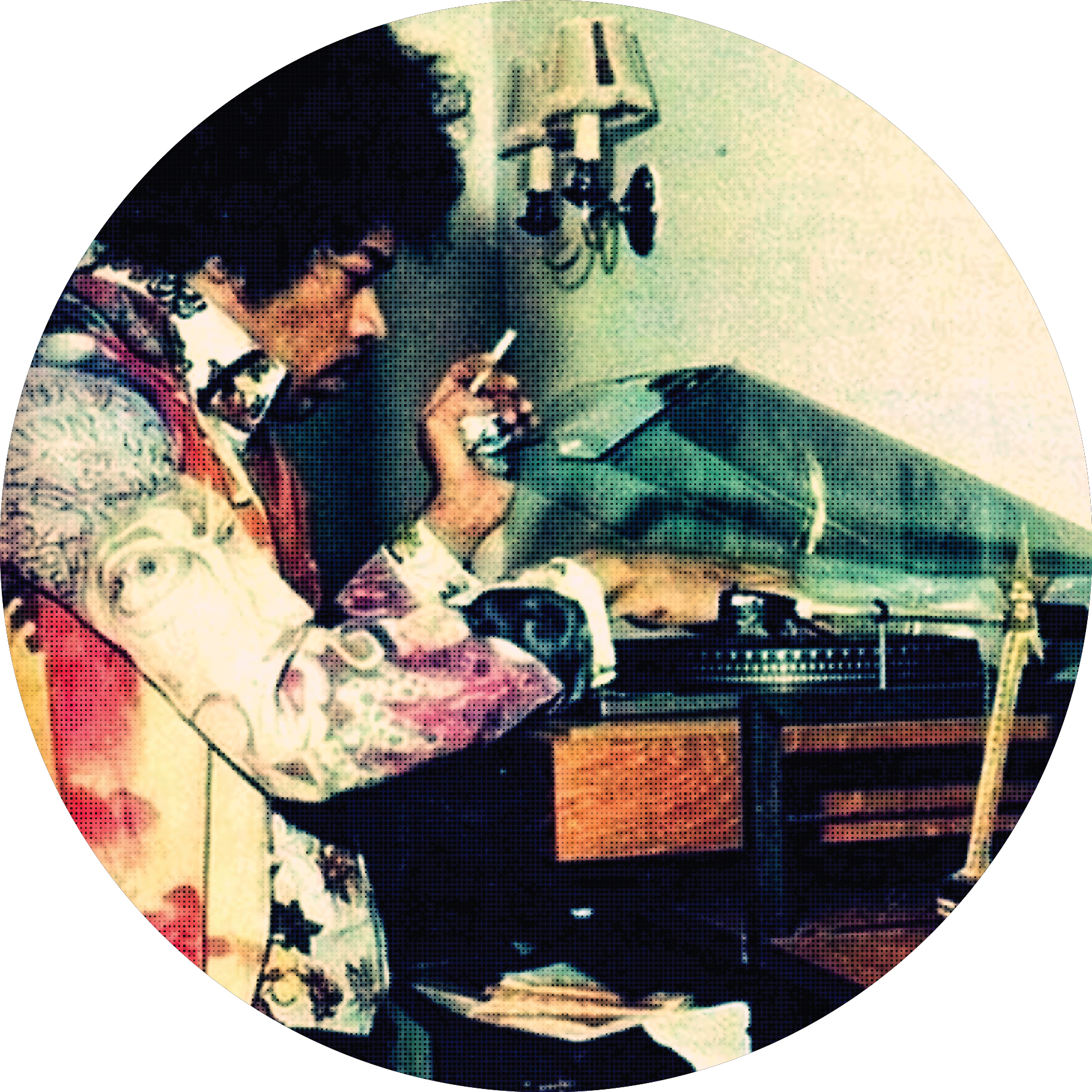 Jimi Hendrix/TURNTABLE JIMI SLIPMAT
