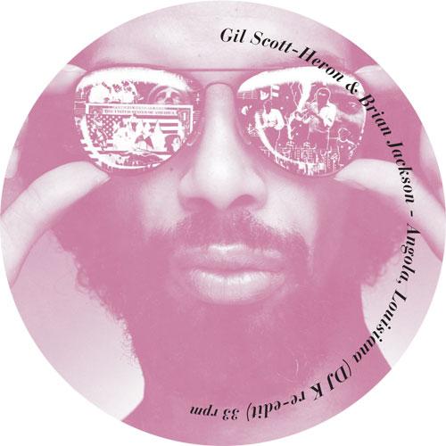 "Gil Scott-Heron/ANGOLA (DJ K MIX) 12"""