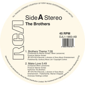 Brothers/BROTHERS THEME 12""