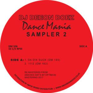"""DJ Deeon/DOEZ DANCE MANIA SAMPLER 2 12"""""""