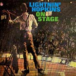 Lightnin' Hopkins/LIGHTNIN' ON STAGE LP