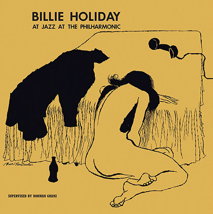 Billie Holiday/JAZZ AT PHILHARMONIC LP