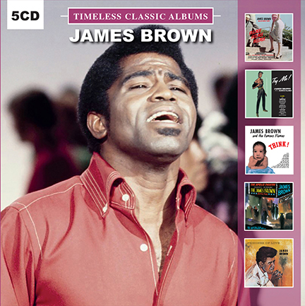 James Brown/TIMELESS CLASSICS 5CD