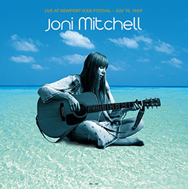 Joni Mitchell/LIVE AT NEWPORT FOLK LP