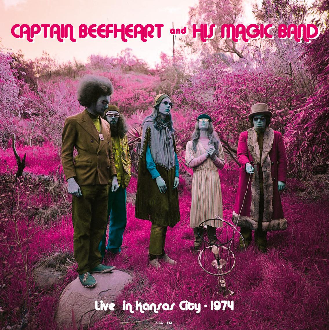Captain Beefheart/LIVE IN K.C. (1974) LP