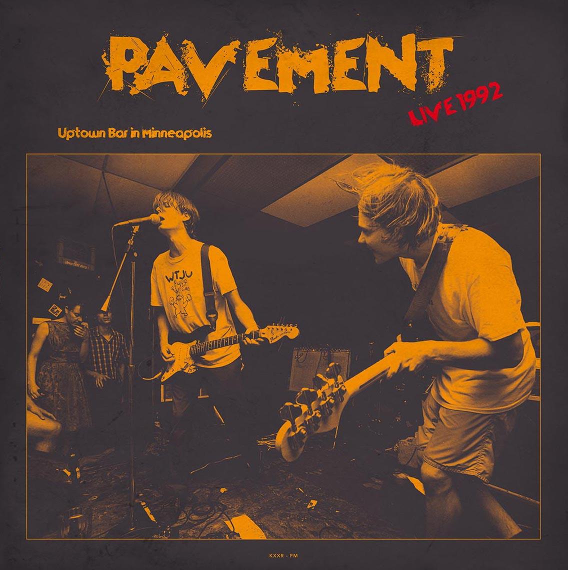 Pavement/LIVE MINNEAPOLIS 1992 (180g) LP