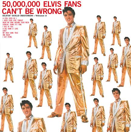 Elvis Presley/GOLDEN RECORDS V2 180G LP