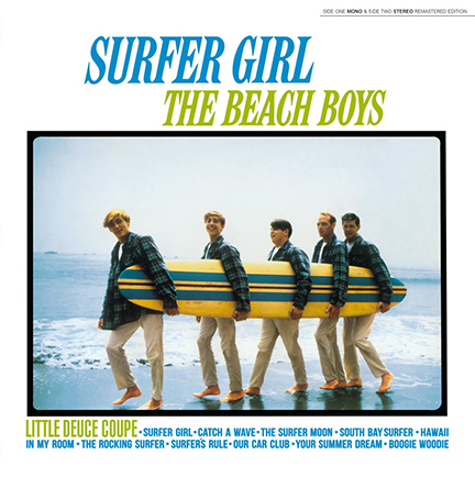 Beach Boys/SURFER GIRL (180g) LP