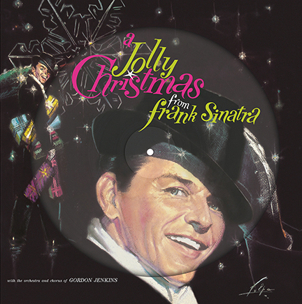 Frank Sinatra/A JOLLY CHRISTMAS PIC LP