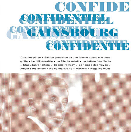 Serge Gainsbourg/CONFIDENTIEY (180g) LP