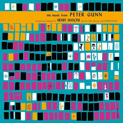Henry Mancini/PETER GUNN OST (ORANGE) LP